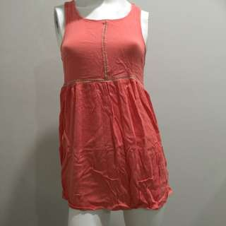 Quirky Circus Orange Dress Size 10