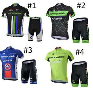 Cannondale Road Bike Cycling Jersey Set