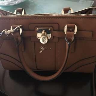 Guess Satchel Bag (auth)