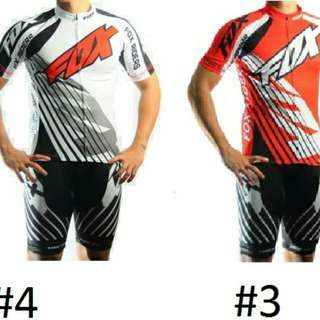 Fox Bike Cycling Jersey Set