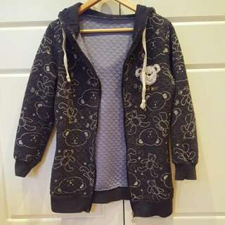Bear Hooded Jacket