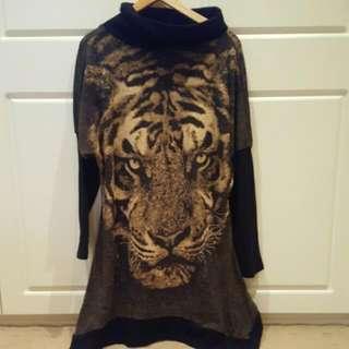 Tiger Winter Dress
