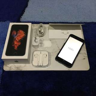 (MAKE OFFER) iPhone 6s 64GB, 2 Tagg Tempered Glass And Case Included