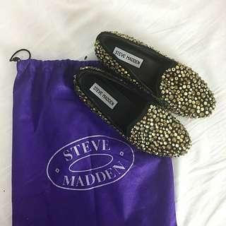 STEVE MADDEN Studded Loafers (Size AU5.5)