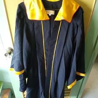 SERANGOON BROADWAY Graduation Gown