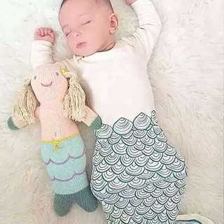 Mermaid Sleeping Bag - Newborn