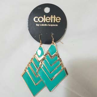 Colette Turquoise Arrow Drop Earrings
