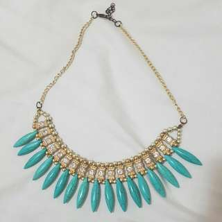 Indi Turquoise Chestplate Necklace