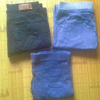 《60元/件》牛仔褲、鬆緊褲窄管褲