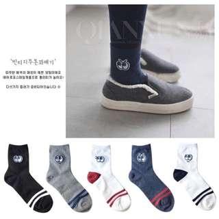 預購💕韓國俏皮大眼睛長襪
