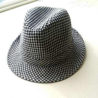 千鳥紋針織紳士帽