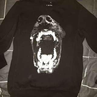 Black Wolf Jumper For Sale