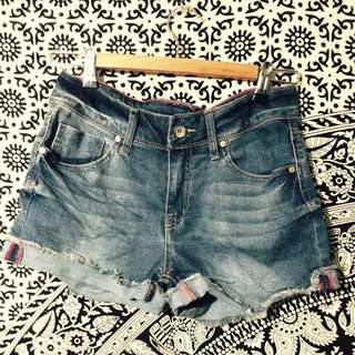 High Waisted Shorts NEVER WORN Size 8