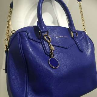 Charles And Keith Electric Blue Bag