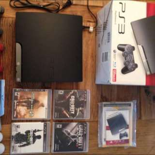 PS3 - PLAYSTATION 3 With Controllers & Games
