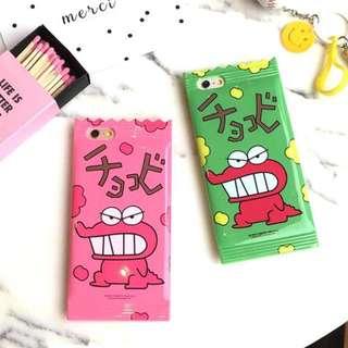 蠟筆小新最愛 怪獸餅乾 iPhone 6/6s手機殼