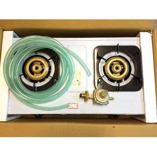 家用瓦斯爐 【和家牌】全不鏽鋼瓦斯爐(KS-268G) 全新