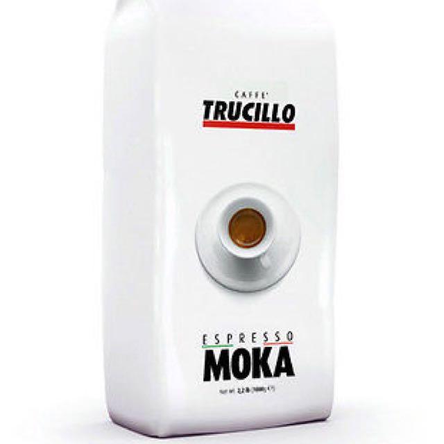 1 Case of 6 Trucillo Caffe Italian Espresso Moka 1000g Coffee Beans