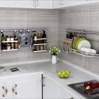 Kitchen Shelf And Rack