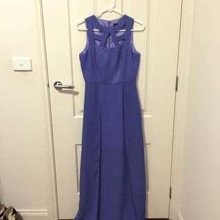 Pilgrim (Myer) Purple Evening/Formal Dress