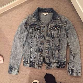 Denim Jacket Size 6