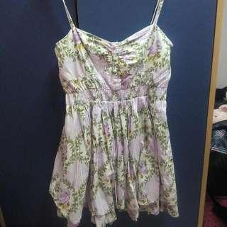 Preloved Flora Summer Dress