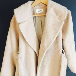 Snidel Coat In Cream