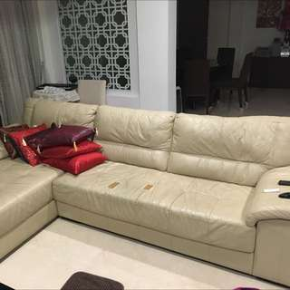 Full Set Sofa. 3m By 2m L Shape Sofa