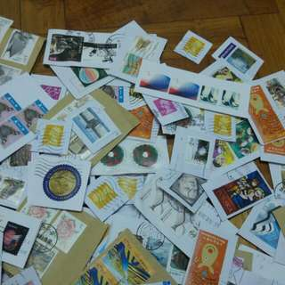 Assorted Foreign Stamps (Franked) x50