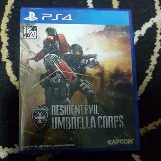 UNREEDEM CODE Resident Evil Umbrella Corps