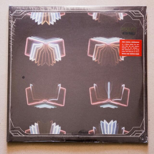 Vinyl: Arcade Fire - Neon Bible 2xLP 180g vinyl album