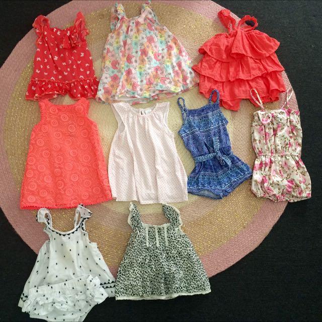 Beautiful Little Girls Summer Bundle