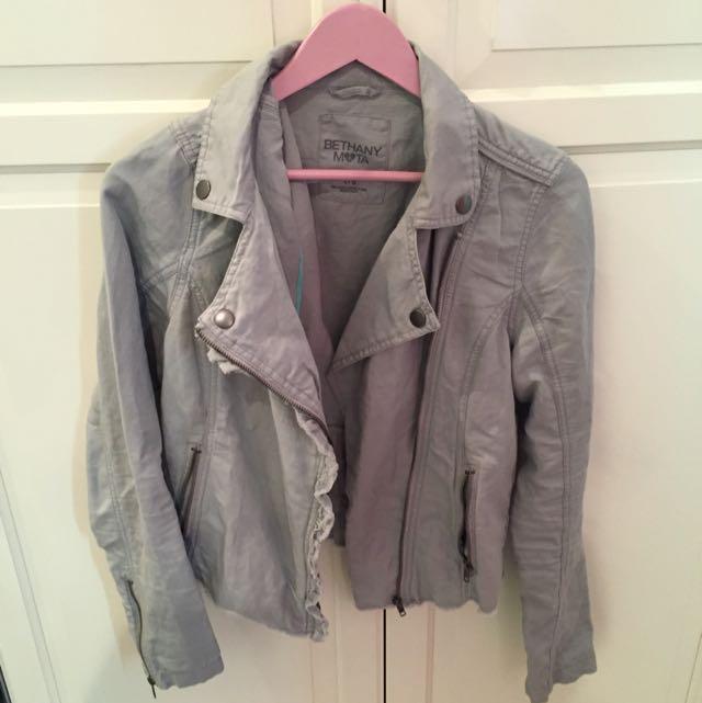 Bethany Mota Collection Grey Jacket