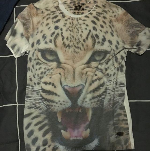 Bing & harris Leopard Print Shirt
