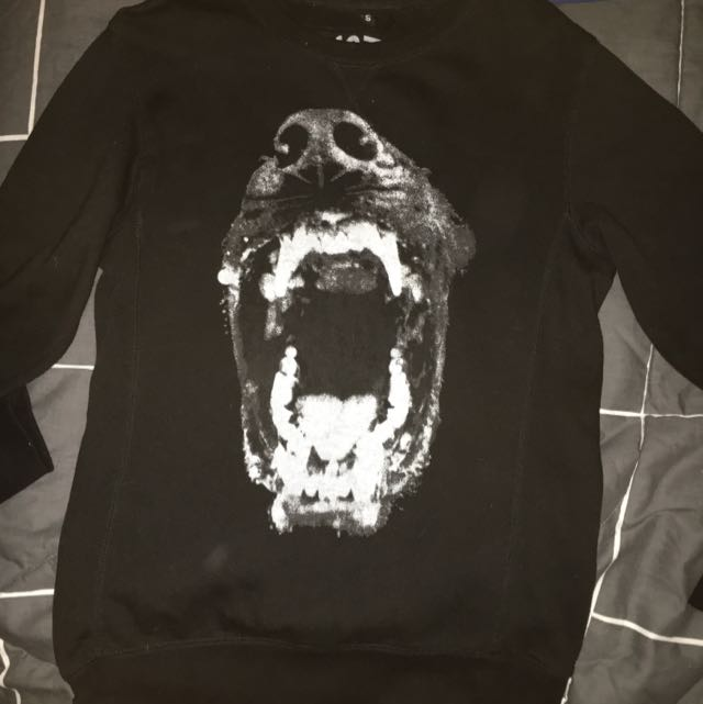 Black Wolf Jumper For Sale