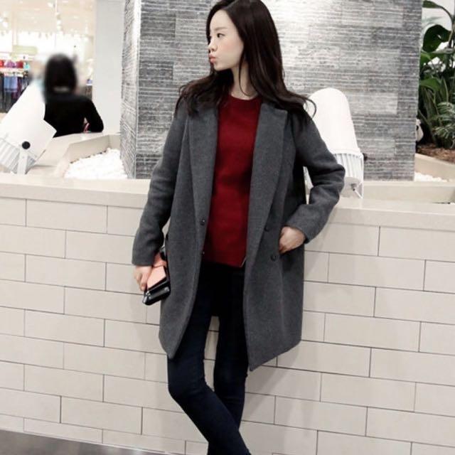 Brand New Dark Grey Coat
