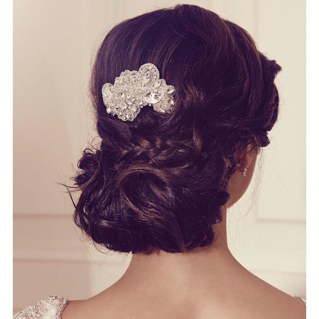 Bridal Comb - Anna Campbell