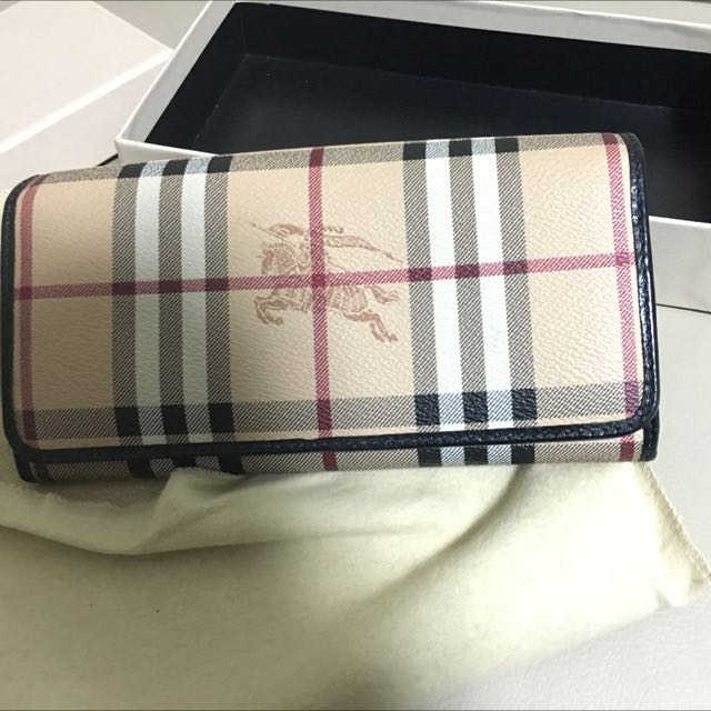 Burberry Horse Check Wallet