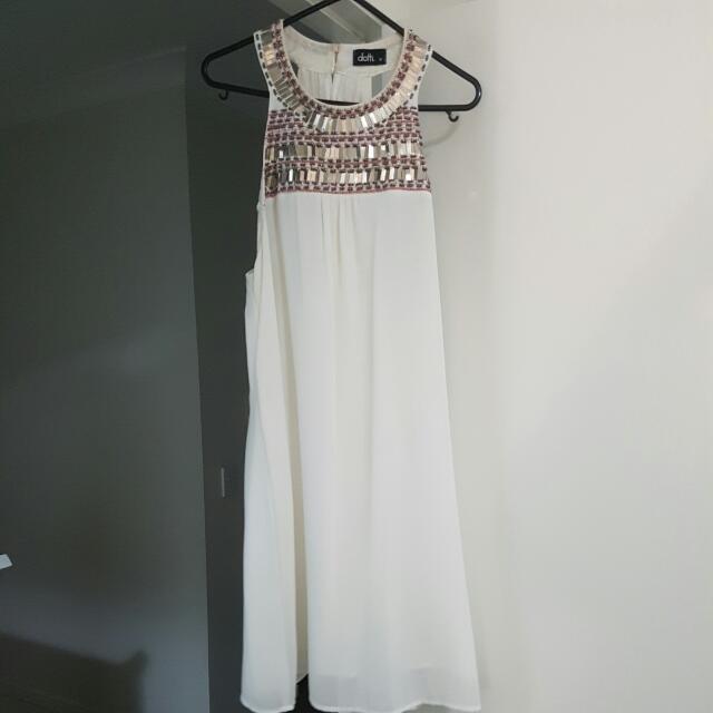 Dotti Sequins Feature Dress