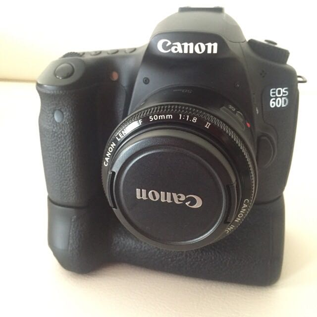 DSLR Canon 60d FIXED PRICE
