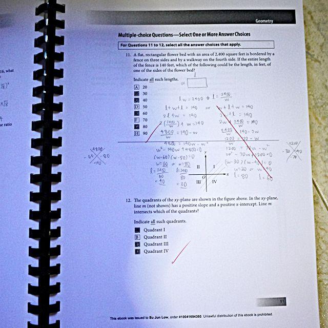 ETS Official GRE Quantitative Reasoning Practice Questions