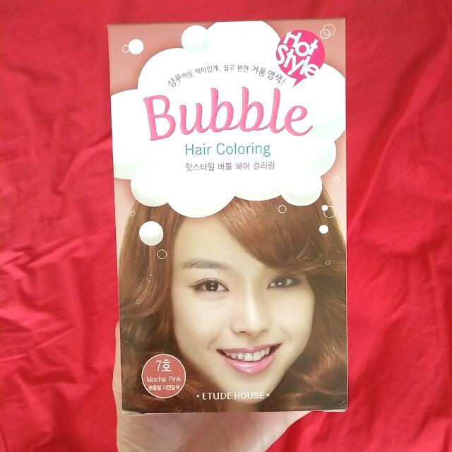 Etude House Bubble Hair Coloring Mocha Pink