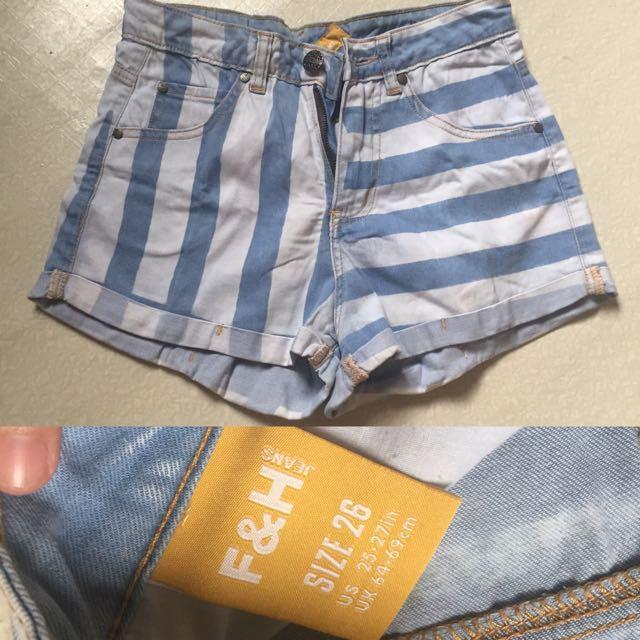 Folded & Hung Highwaisted Shorts