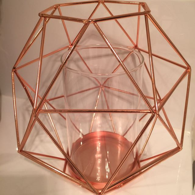Gorgeous Bronze Candle Holder