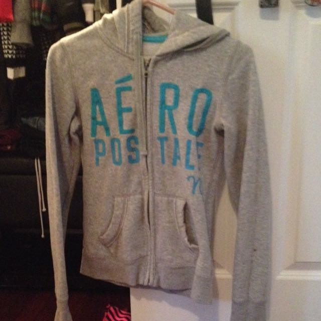 Grey Aero postal Sweater