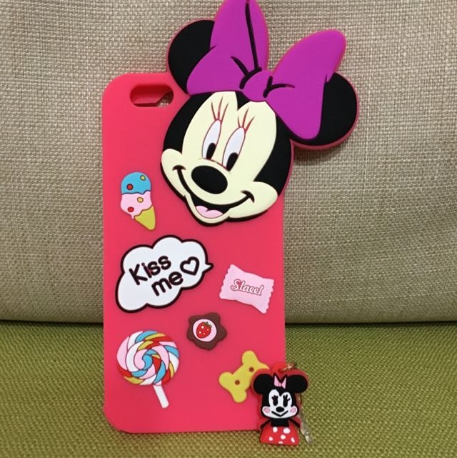 米妮iphone6/6plus矽膠手機殼
