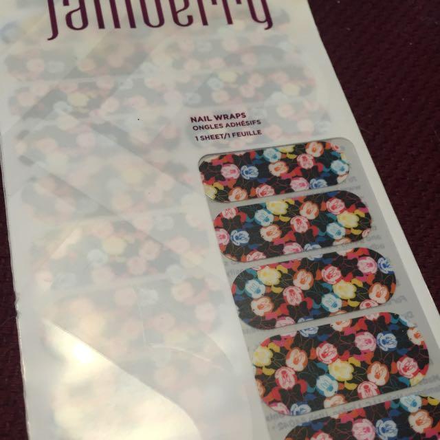 Jamberry Colour Me Minnie Nail Wraps