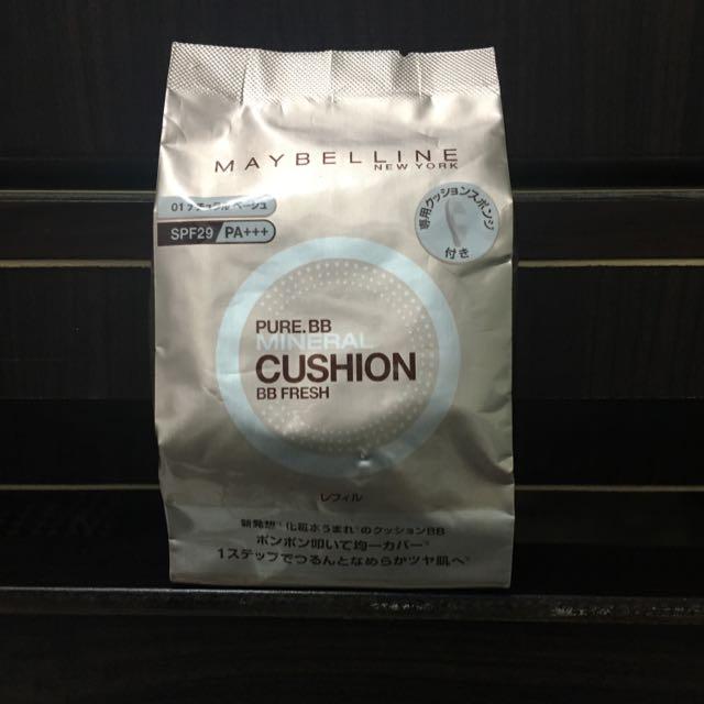 Maybelline媚比琳氣墊粉餅替換粉蕊01白皙色