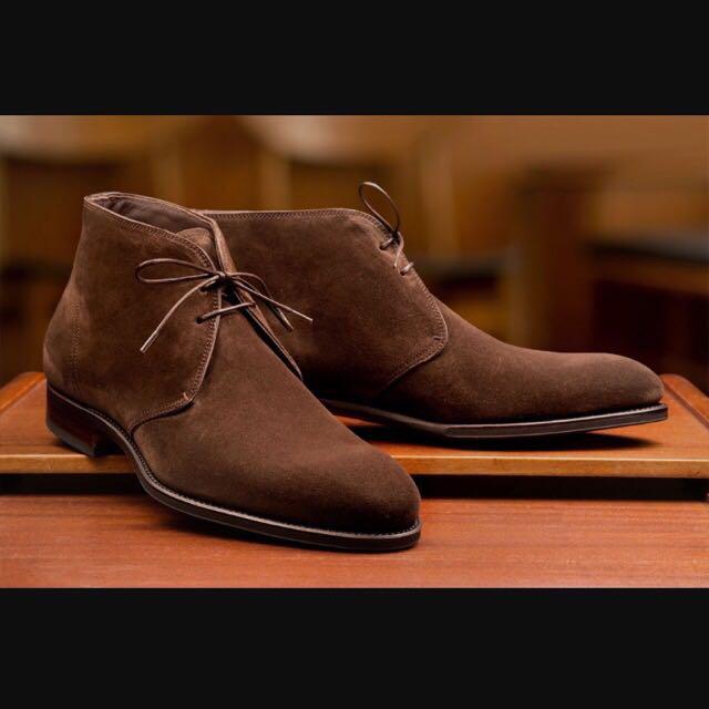 Men's Carmina Chukka Boots Size Uk8