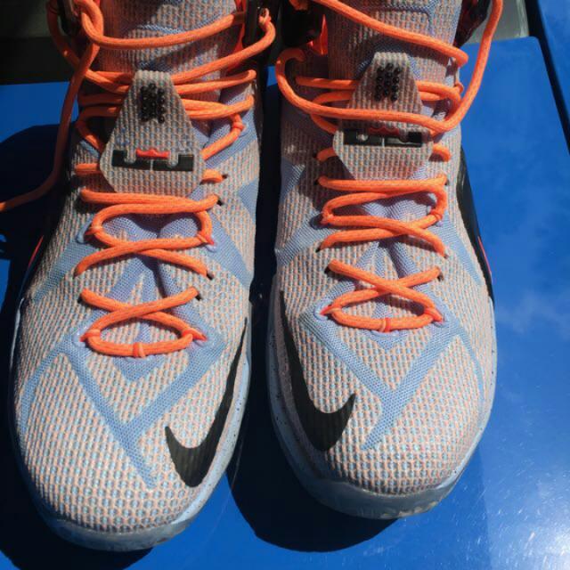 online store 3ab39 e2806 Nike Lebron 12 Easter